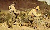 Gustave Courbet The Stone Breakers painting