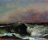 Gustave Courbet The Wave 6 painting