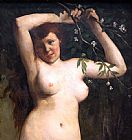 Gustave Courbet Torso of a Woman painting
