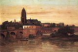 Gustave Courbet View of Frankfurt painting