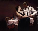 Romance paintings - When We Were Young by Hamish Blakely