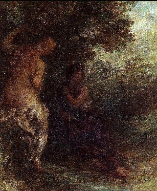 Henri Fantin-Latour Two Bathers