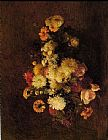 Henri Fantin-Latour Bouquet of Flowers I painting
