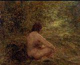 Henri Fantin-Latour The Bather painting