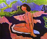 Henri Matisse A Sitting Nude painting