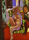 Henri Matisse Nude Sitting in an Armchair painting
