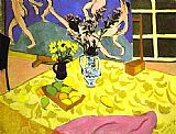 Henri Matisse Still Life with La Danse painting