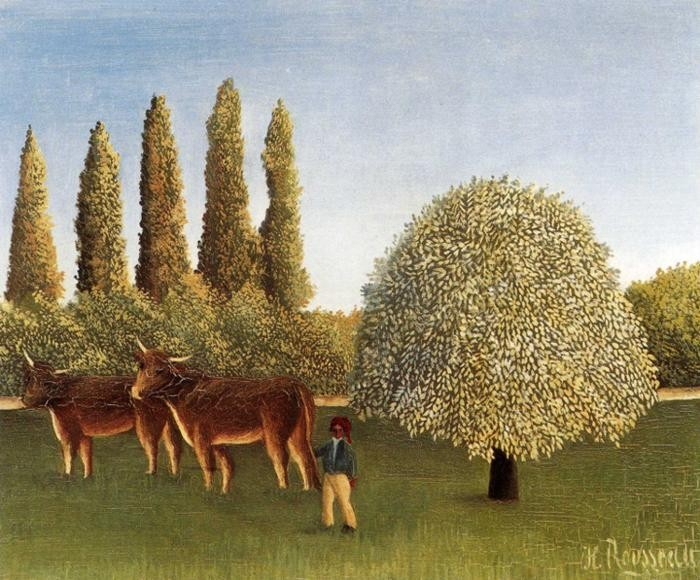 Henri Rousseau The Pasture