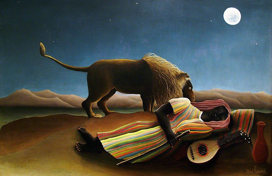 Henri Rousseau The Sleeping Gypsy