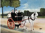 Henri Rousseau Old Juniere's Cart painting