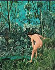 Henri Rousseau The Charm painting