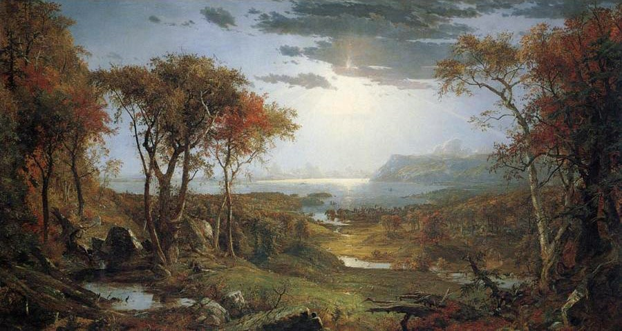 Jasper Francis Cropsey Autnmn on the Hudson River