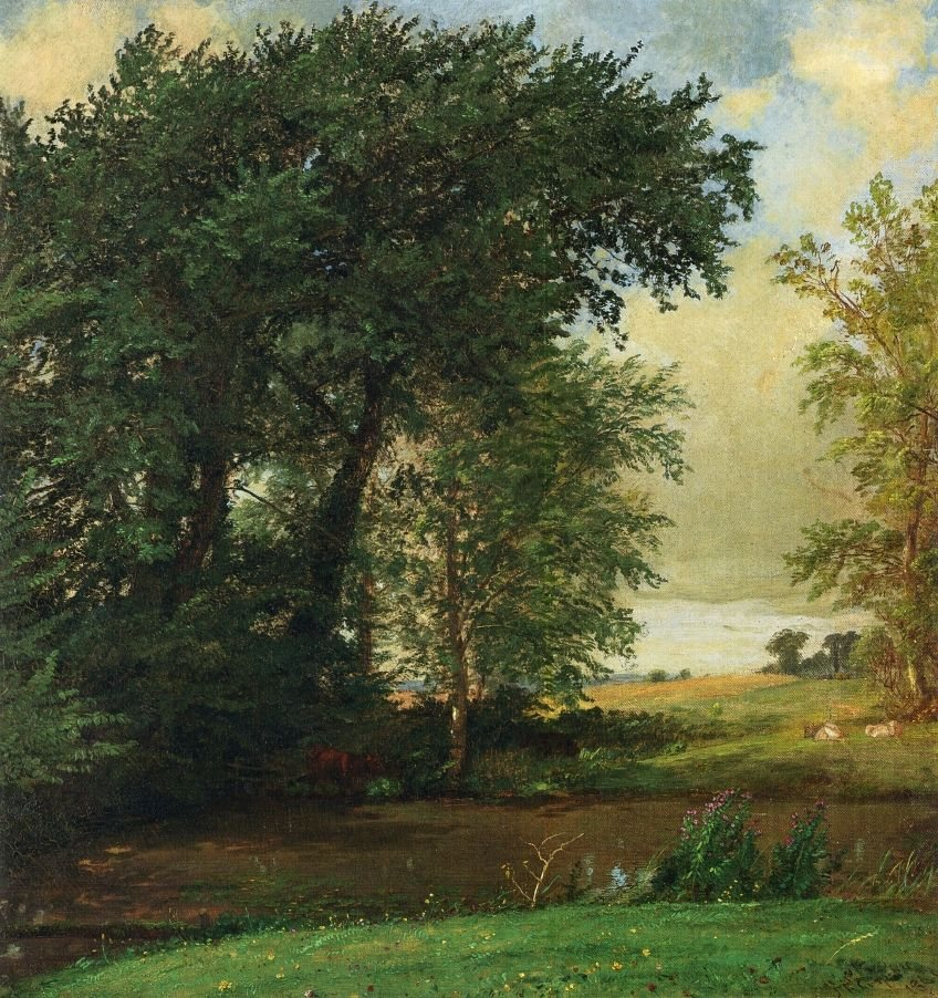Jasper Francis Cropsey Banks of the River