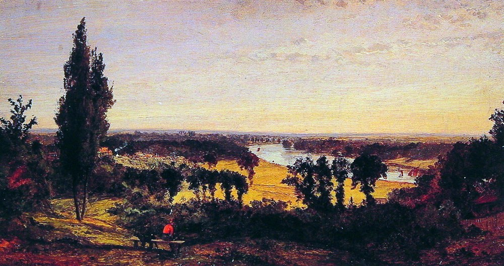 Jasper Francis Cropsey Richmond Hill and the Thames, London