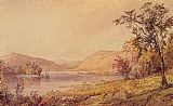 Jasper Francis Cropsey Greenwood Lake, New Jersey painting