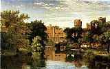 Jasper Francis Cropsey Warwick Castle, England painting