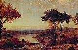 Jasper Francis Cropsey Wyoming Valley, Pennsylvania painting