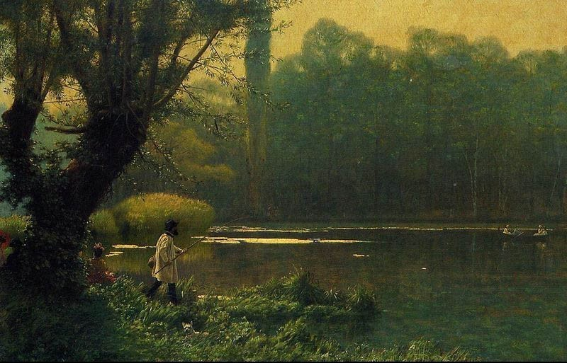 Jean-Leon Gerome Summer Afternoon on a Lake