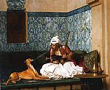 Jean-Leon Gerome A Joke painting