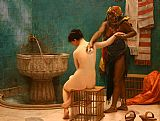 Jean-Leon Gerome Bath painting