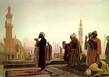 Figure Classic paintings - Prayer in Cairo by Jean-Leon Gerome