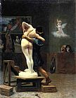 Jean-Leon Gerome Pygmalion and Galatea painting