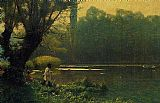 Jean-Leon Gerome Summer Afternoon on a Lake painting