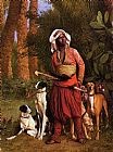 Jean-Leon Gerome The Negro Master of the Hounds painting