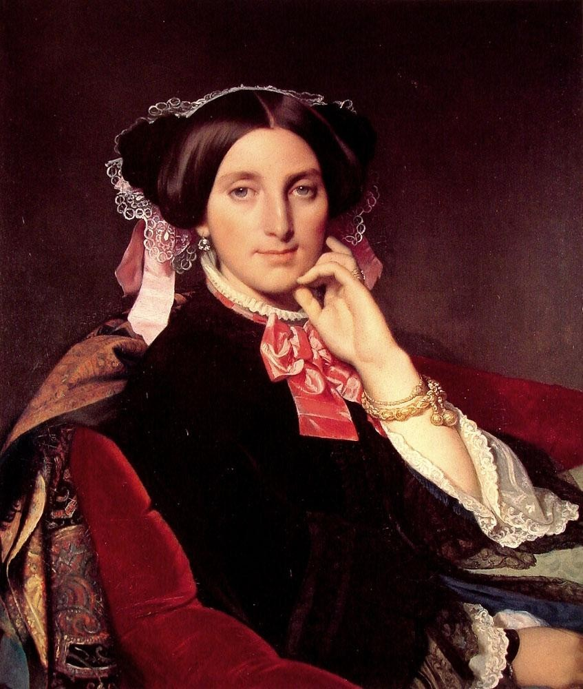 Jean Auguste Dominique Ingres Madame Henri Gonse
