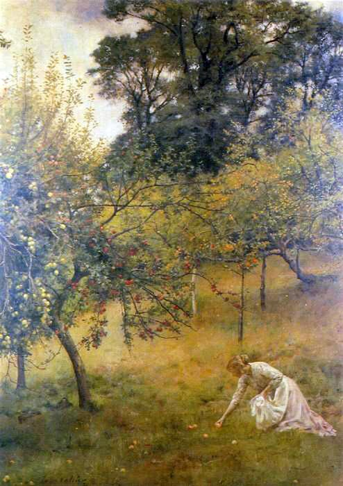 John Collier A Devonshire Orchard