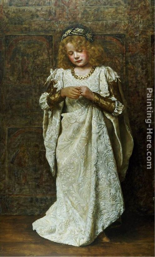 John Collier The Child Bride