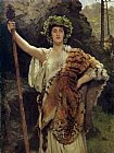 John Collier The Priestess of Bacchus painting