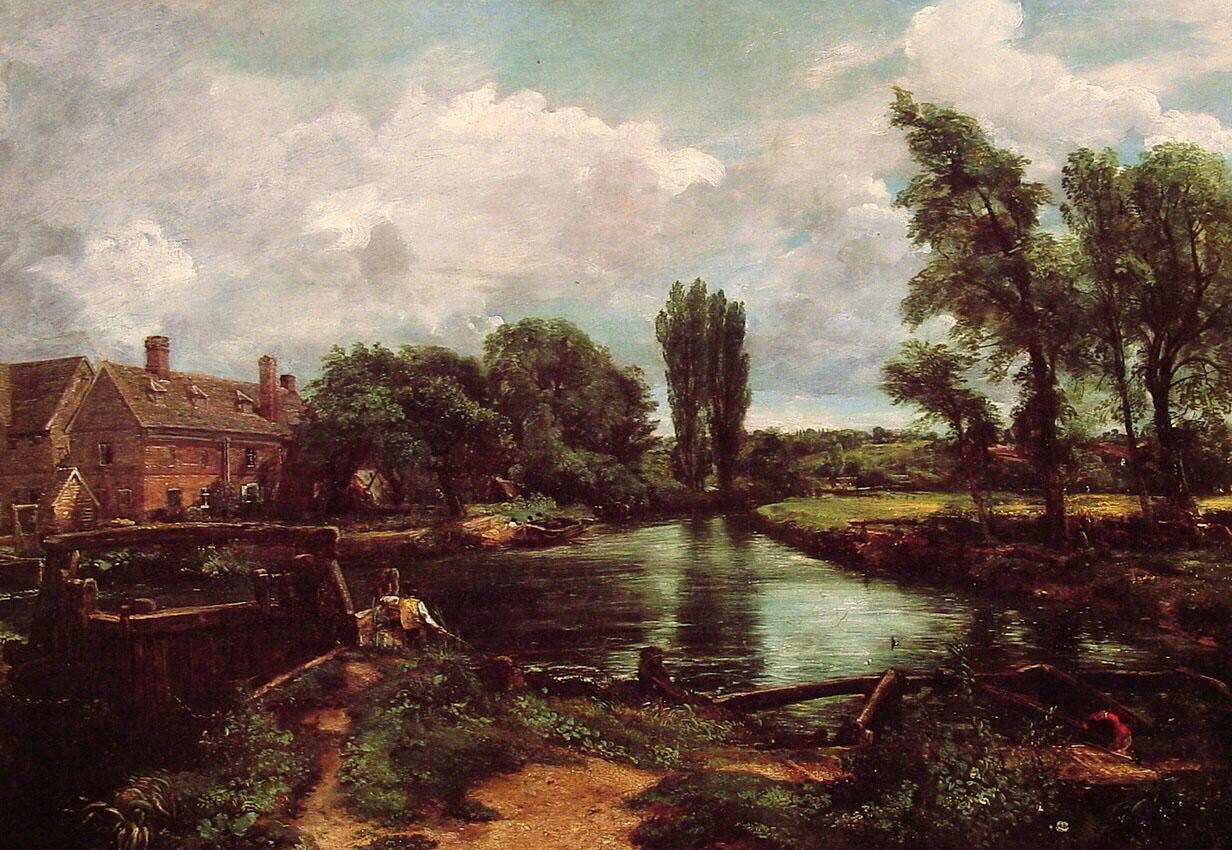 John Constable A Water-Mill