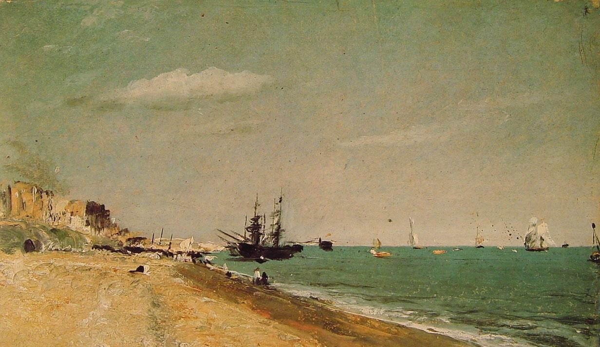 John Constable Brighton Beach with Colliers