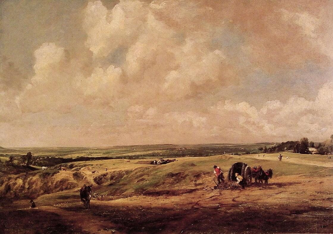 John Constable Hamstead Heath