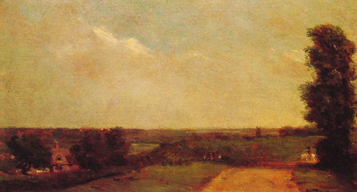 John Constable View Towards Dedham