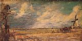 John Constable Spring Ploughing painting