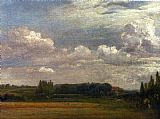 John Constable View Towards The Rectory painting