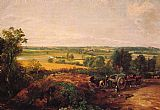 John Constable View of Dedham painting
