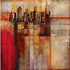 John Douglas Plaid City painting