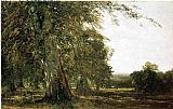 John Frederick Kensett Windsow Woods painting