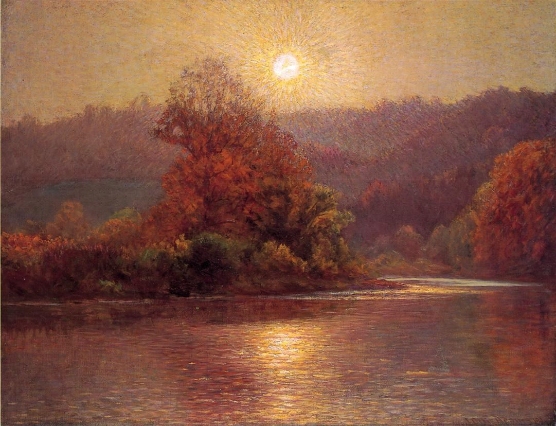 John Ottis Adams The Closing of an Autumn Day