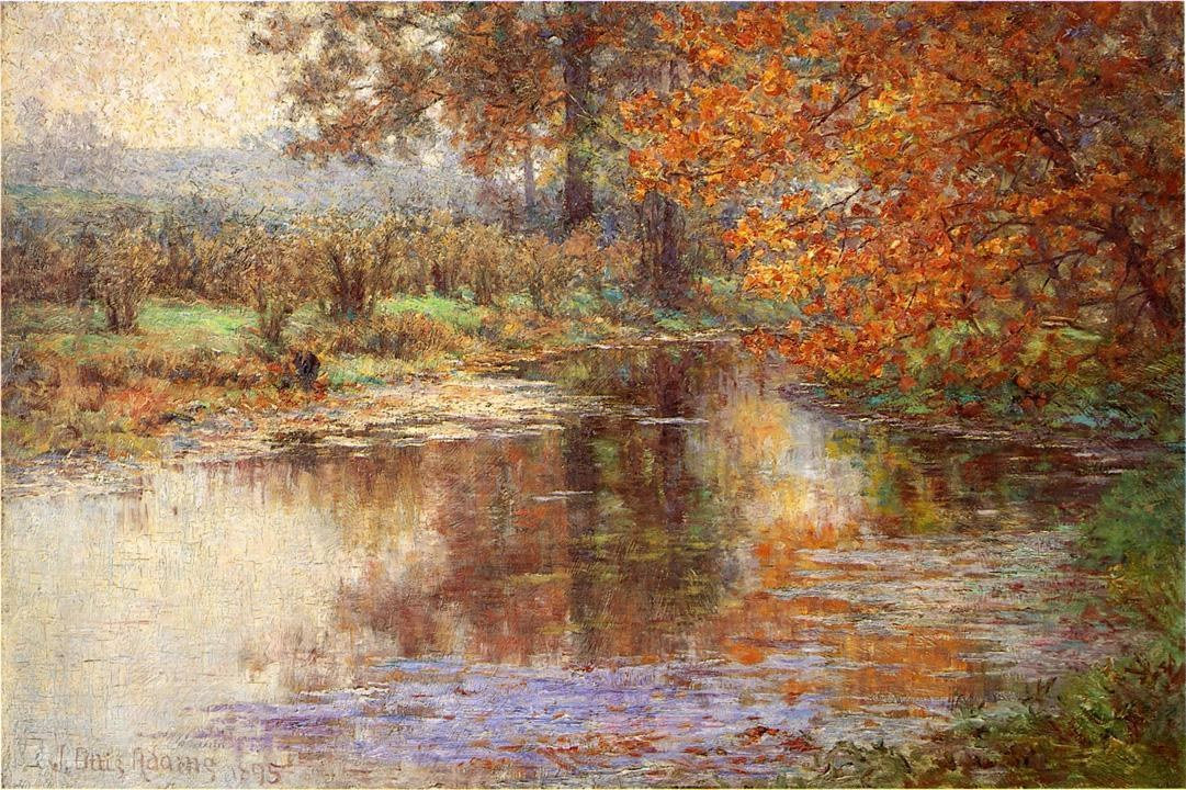 John Ottis Adams The Glimmerglass of the Mississinewa