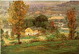 John Ottis Adams In the Whitewater Valley painting