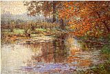 John Ottis Adams The Glimmerglass of the Mississinewa painting