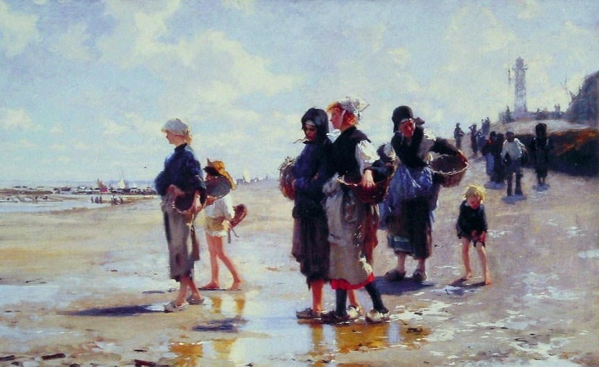 John Singer Sargent Oyster Gatherers of Cancale