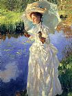 John Singer Sargent Morning Walk painting