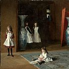 John Singer Sargent The Daughters of Edward Darley Boit painting
