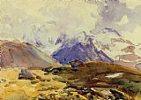 John Singer Sargent The Simplon painting