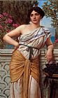 John William Godward Reverie painting